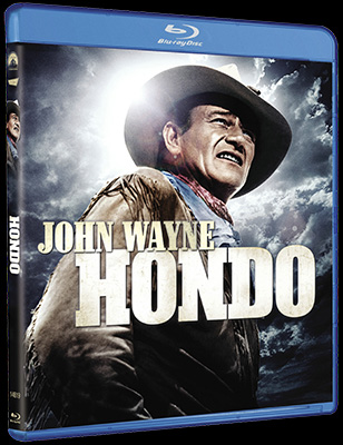 John Wayne's western classic HONDO arrives on Blu-ray June 5th