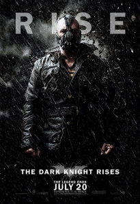 The Bane character banner for THE DARK KNIGHT RISES