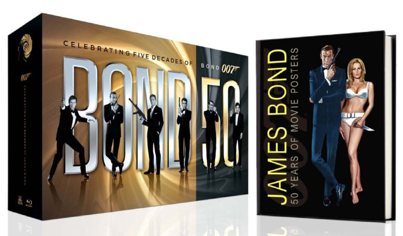 Pre-order the BOND 50 22-film Blu-ray box set and the James Bond 50 Years of Movie Posters book EXCLUSIVELY from Amazon.com and save $100