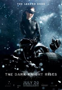 A new Catwoman character banner for THE DARK KNIGHT RISES