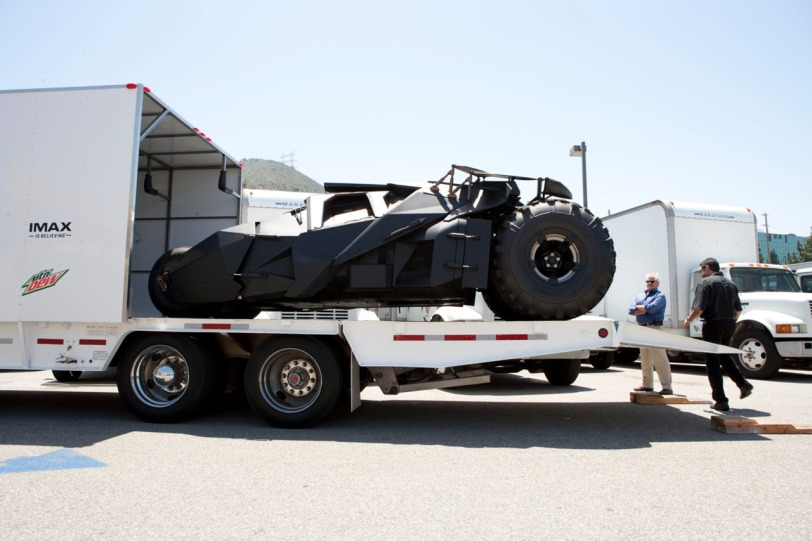 The Dark Knight's Tumbler prepares to tour the U.S. and Canada this summer