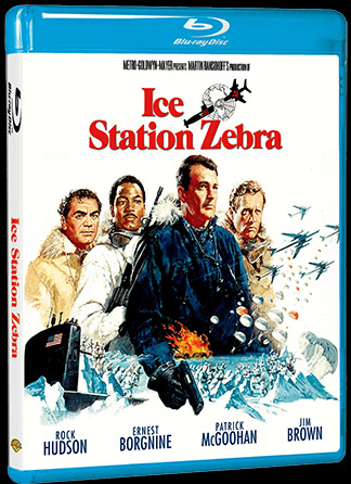 The Cold War thriller ICE STATION ZEBRA debuts on Blu-ray October 9th