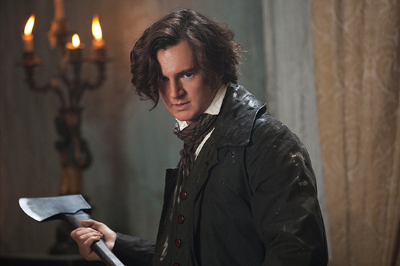 Benjamin Walker stars as ABRAHAM LINCOLN: VAMPIRE HUNTER.