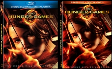 Blu-ray and DVD covers for THE HUNGER GAMES available August 18th