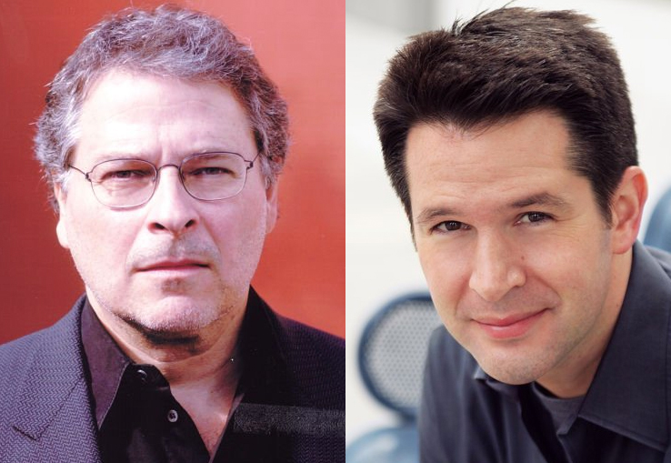 (L to R): Screenwriters Lawrence Kasdan and Simon Kinberg are developing stand along spin-off STAR WARS films separate from the new trilogy of films starting in 2015.