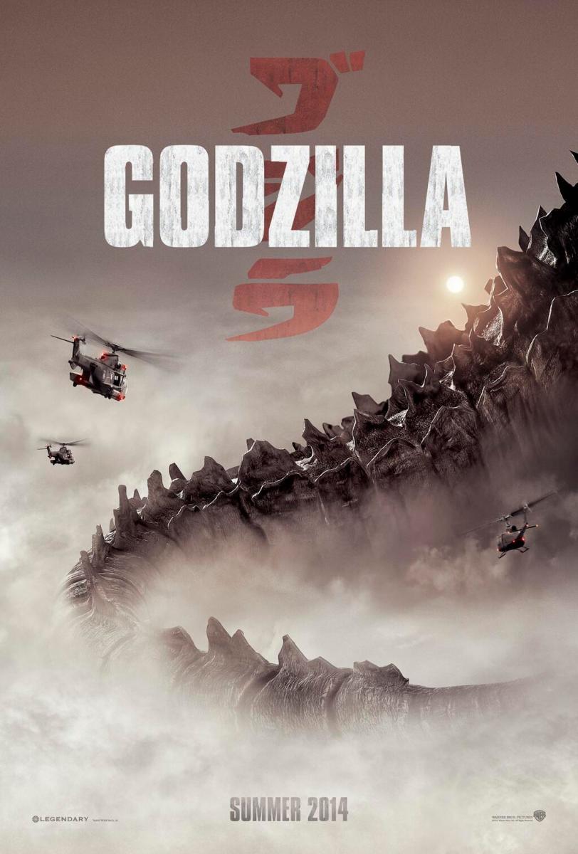 Exclusive Comic-Con GODZILLA teaser poster