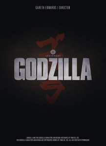 GODZILLA (2014) teaser poster from Legendary