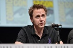 "SAN DIEGO, CA - JULY 20: Actor James Gunn speaks at Marvel's ""Guardians Of The Galaxy"" panel during Comic-Con International 2013 at San Diego Convention Center on July 20, 2013 in San Diego, California. (Photo by Alberto E. Rodriguez/WireImage) *** Local Caption *** James Gunn"