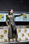SAN DIEGO, CA - JULY 20: Actor Tom Hiddleston attends Marvel's Thor: The Dark World presentation during Comic-Con International 2013 at San Diego Convention Center on July 20, 2013 in San Diego, California. (Photo by Alberto E. Rodriguez/WireImage) *** Local Caption *** Tom Hiddleston