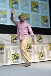 "SAN DIEGO, CA - JULY 20: Actor Anthony Mackie speaks at Marvel's ""Captain America: Winter Soldier"" panel during Comic-Con International 2013 at San Diego Convention Center on July 20, 2013 in San Diego, California. (Photo by Alberto E. Rodriguez/WireImage) *** Local Caption *** Anthony Mackie"