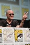 "SAN DIEGO, CA - JULY 20: Actor Michael Rooker speaks at Marvel's ""Guardians Of The Galaxy"" panel during Comic-Con International 2013 at San Diego Convention Center on July 20, 2013 in San Diego, California. (Photo by Alberto E. Rodriguez/WireImage) *** Local Caption *** Michael Rooker"