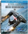 STAR TREK INTO DARKNESS 3D Blu-ray + DVD Combo Pack cover art