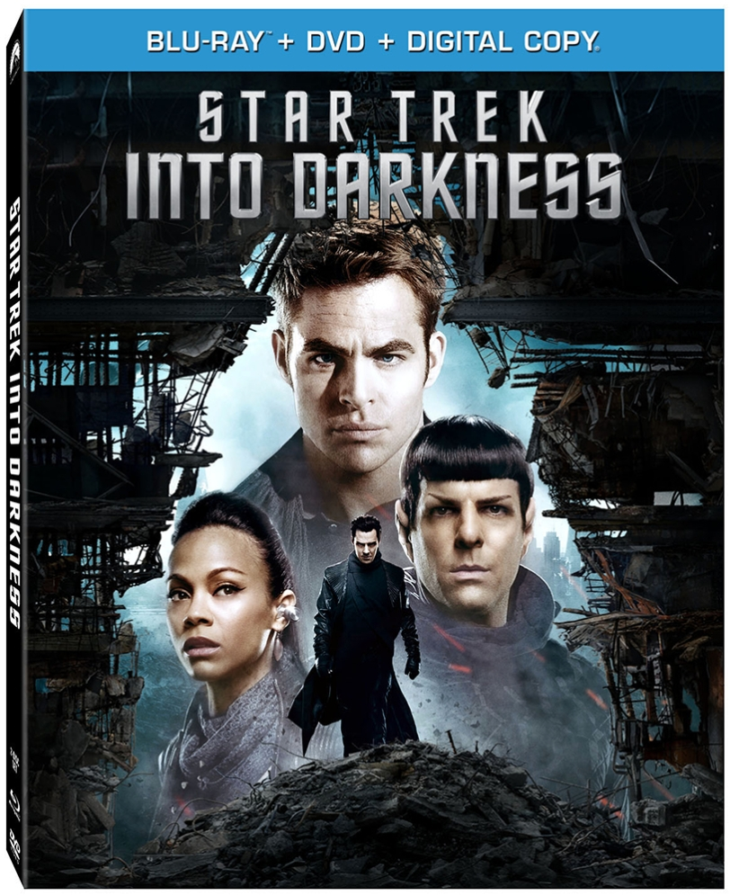 STAR TREK INTO DARKNESS Blu-ray + DVD Combo Pack cover art