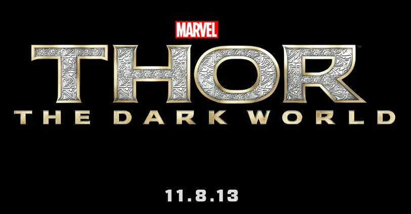 THOR: THE DARK WORLD logo art by Marvel Studios