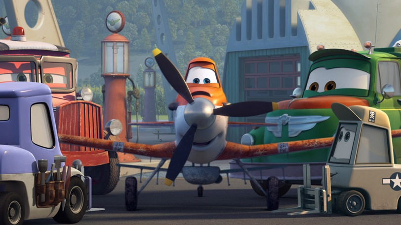 """""""PLANES"""" (L-R) DOTTIE, DUSTY and CHUG. c. 2013 Disney Enterprises, Inc. All Rights Reserved."""