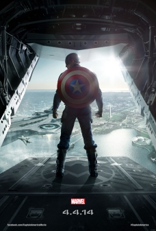 One-sheet poster for Marvel's CAPTAIN AMERICA: THE WINTER SOLDIER, arriving in theaters April 4, 2014. © Disney. All rights reserved.