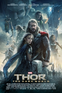 THOR: THE DARK WORLD one-sheet payoff poster. © 2013 MVLFFLLC. TM & © 2013 Marvel. All Rights Reserved.